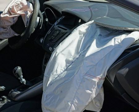 car crash damage injury